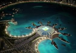 Для фанатов футбола на ЧМ-2022 Катар поставит уличные кондиционеры и нагонит облака