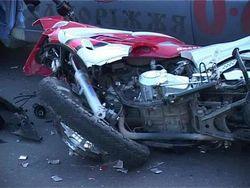 мотоциклист погиб от столкновения