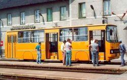 Автобус на рельсах
