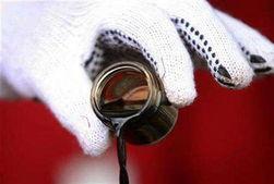 Упала цена фьючерсов на нефть