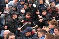 Драка цыган с кавказцами