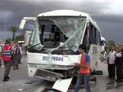 Российские туристы пострадали в ДТП