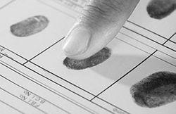 Контроль въезжающих по отпечаткам пальцев