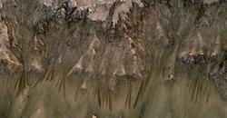 Ледники и вода на Марсе