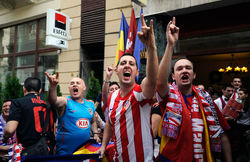 Фанаты Атлетико
