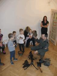 Ваффен СС в детском саду