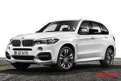 Фото новых BMW X5 M50d: стиль и изящество М-дизайна