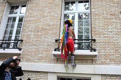 Французские активистки FEMEN