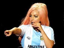 В форме Аргентины