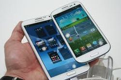 Samsung Galaxy Note 3 получит 5,7-дюймовый экран