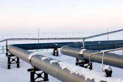 Пик потребления газа холодной зимой