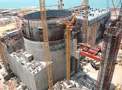 строительство Островецкой АЭС