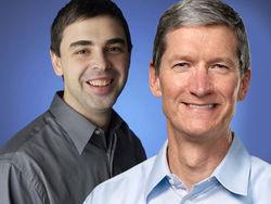 Главы Apple и Google