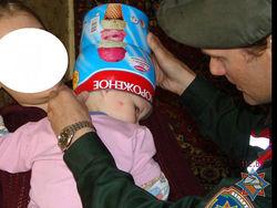 спасатели освободили голову ребенка