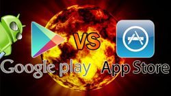 Google Play Store и Apple iTunes App Store