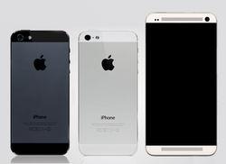 Смартфон HTC M7 похож на iPhone 5
