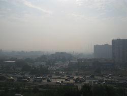 Хабаровск накрыл дым
