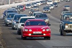 Стритрейсеры Москвы – на благотворительный автопробег в Грозный