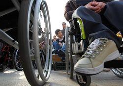 марафон инвалидов-колясочников
