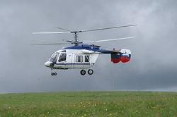 Вертолетное сообщение в Москве