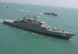 Новый эсминец «Джамаран-2» на Каспии Тегеран называет послом мира
