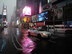 В Нью-Йорке остановился городской транспорт