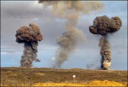 Взрывы в Оренбуржье