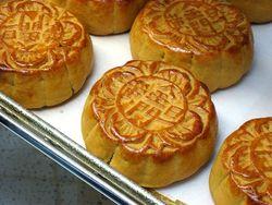 Золотые пирожные