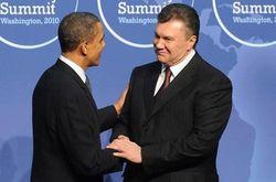 Янукович встретился в кулуарах с Обамой