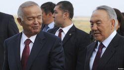 Каримов и Назарбаев
