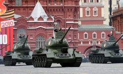 Военная техника на параде в Москве