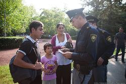 Уровень доверия к грузинской полиции