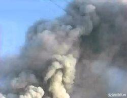 Взрыв на заводе в Ереване