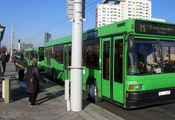 движение городского транспорта