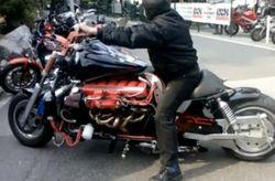 дорогой мотоцикл