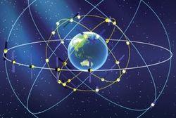 два спутника на орбите