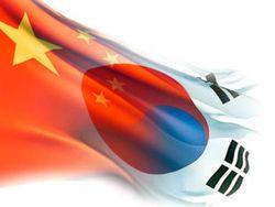 Китай, Япония и Южная Корея