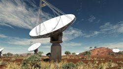 Мощный радиотелескоп