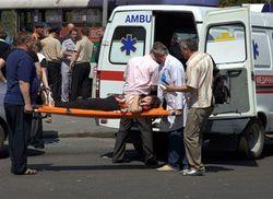 Количество пострадавших от взрывов