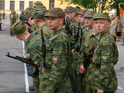 Количество солдат-контрактников