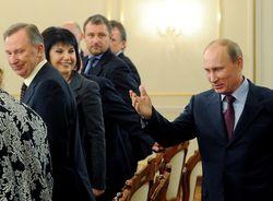 Встреча с В.Путиным