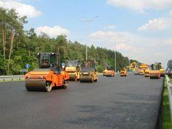 Строительство автомагистрали в Армении