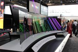 В США начались продажи телевизора с вогнутым экраном – по 15 тыс. долларов