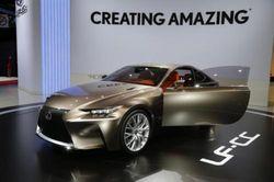 Lexus представил концепт-кар LF-CC
