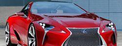 Lexus роскошное купе