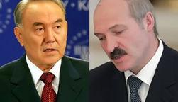 Лукашенко и Назарбаев