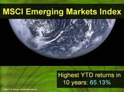 За неделю индекс MSCI Emerging Markets упал