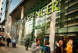 Прибыль Marks & Spencer в прошедшем фингоду упала на 9 процентов