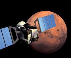 Американский марсоход связался с Землей через европейский Mars Express