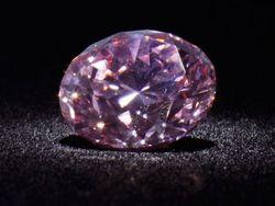«Марсианский розовый» бриллиант